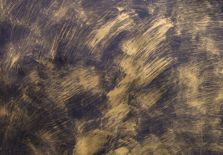 gold metal: Painted Gold on metal texture for background.