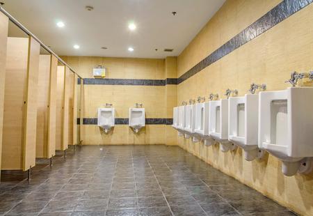 publiczne toalety. mężczyźni pokój Zdjęcie Seryjne