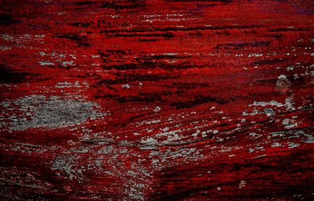 Abstract wood planks blood color for background. photo