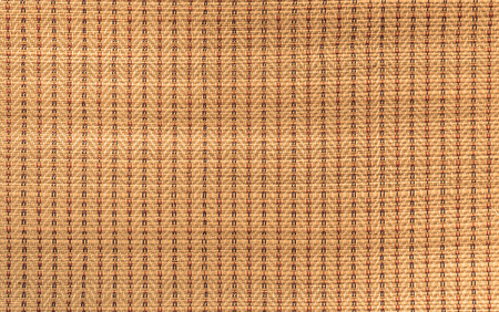 rattan mat: mat handcraft rattan weave texture for background Stock Photo