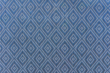old macro: mat handcraft rattan weave texture for background. Stock Photo