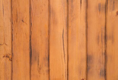 wainscot: Wooden planks wall for background.