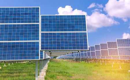 electricity generation: Power plant using renewable solar energy