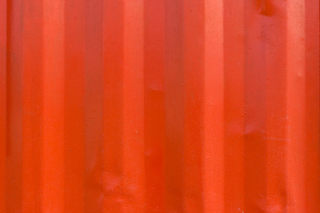 rusts: texture of red zinc wall for background. Stock Photo