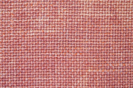 red art pattern woven fabric texture for background.