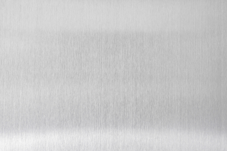 fond métal texture de plaque en acier brossé