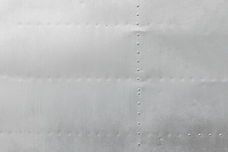 metal aluminum surface of the aircraft fuselage texture. 스톡 콘텐츠