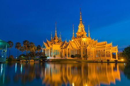 Thai Temple or Wat Non Kum at Nakhon Ratchasima province,  Korat Thailand. 版權商用圖片
