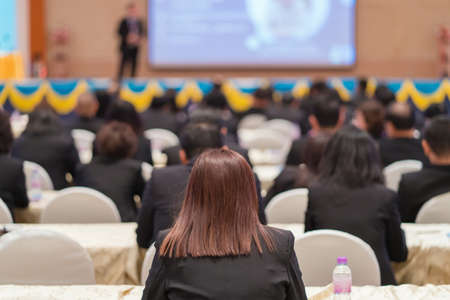 business Conference and Presentation in the conference hall 免版税图像