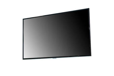 television screen or TV modern blank screen lcd for background.