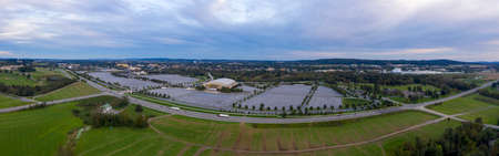 Hershey Pennsylvania USA Aerial Overview