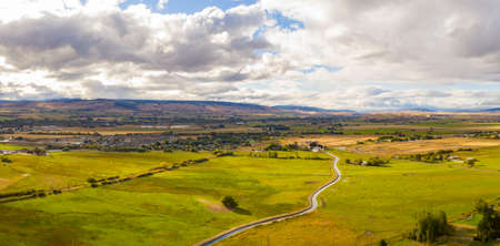 Ellensburg Washington Yakima River Panorama