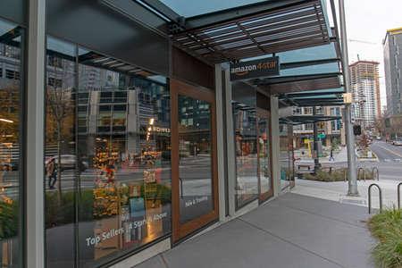 Seattle, Washington USA - Dec 2, 2019: Amazon 4-Star Store