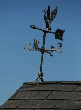 Weather vane on rooftop, Mount Desert Island, Acadia National Park, Bernard  Maine photo