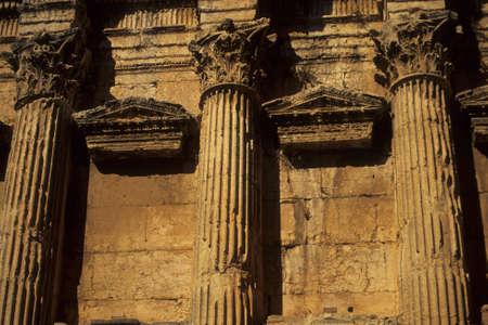 pilaster: Detail, Temple of Bacchus  Baalbek, Lebanon