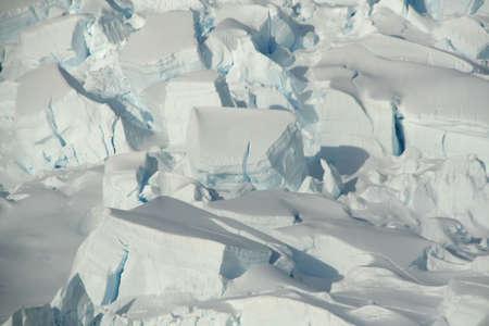 Detail. Glacier icefall,  Neko Harbor, Antarctica   版權商用圖片