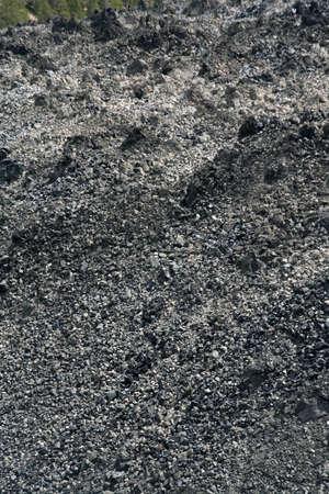 talus: Resumen - obsidiana scree pendiente. Astr�galo campo cerca de Newberry Monumento Nacional Volc�nico, Central Oregon