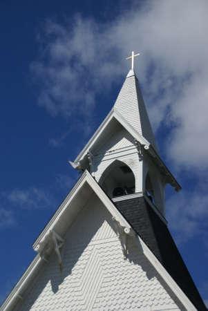 congregational: Congregational Church,   Tremont, Mount Desert Island, Acadia National park, Maine, New England