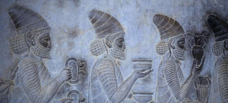 Tribute Bearers (Lydians)  [capital city of Persian empire, Darius ] Persepolis,  Iran, Middle East