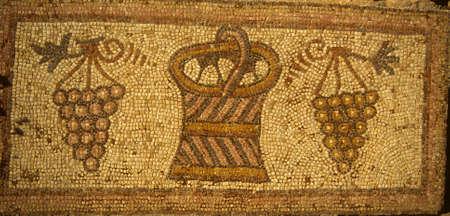 Roman mosaics found near   Maaraat Numan Syria   photo