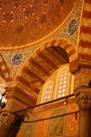 Suleymans tomb Suleymanie Mosque Istanbul Turkey