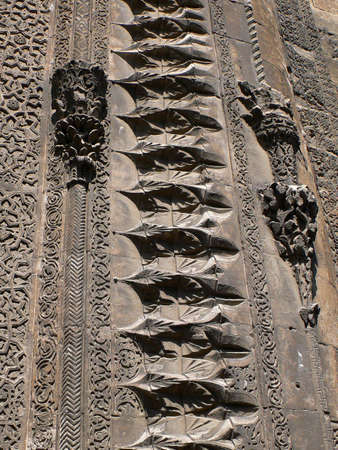 Detail, carved designs, Seljuk mosqueSivasTurkey