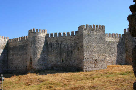 Mumure Castle - exterior towers and walls Anamur Turkey   photo