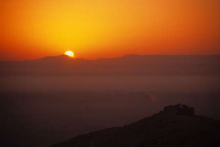 Sunrise, Valley of the Kings		Luxor	Egypt Reklamní fotografie - 2758999