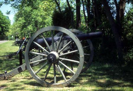 lb: Napoleon, 12 lb cannon, Confederate lines Civil War battlefield, Gettysburg National Battlefield Park, Pennsylvania