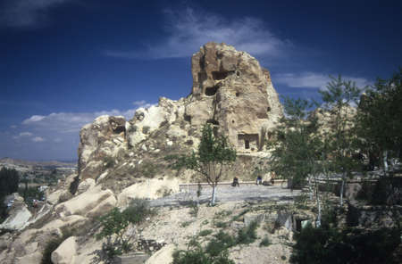 Troglodyte cave house, Urfa, Cappadoccia Turkey
