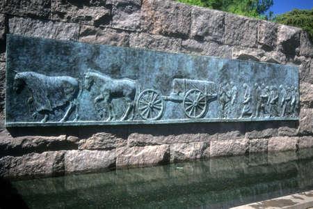 FDR Memorial,    Washington DC