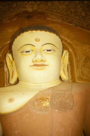 Buddha in temple,   Pagan, Burma / Myanmar, Asia