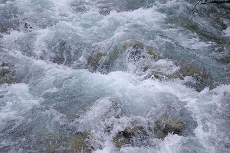 dewey: Dettaglio, le rapide di acqua bianca, Dewey percorso Laghi, Juneau, Alaska