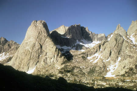 Pingora & Cirque of the Towers, Continental Divide,   Wind Rivers Range of Rocky Mountains Wyoming