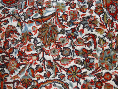 oriental rug: Traditional Persian carpet design in silk and wool
