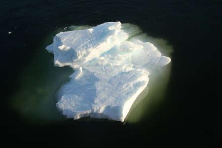 Icebergs on an ocean as smooth as a mirror,  Neko Harbor, Andvord Bay, Antarctica 版權商用圖片