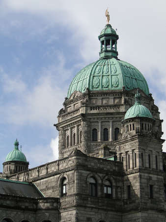 victoria bc: Provincial Parliament buildings in Victoria, BC, Canada                           Stock Photo