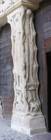 mannerism: Sculpture in Mannerist style, Abbey Church of St. Pierre, Beaulieu sur Dordogne, France