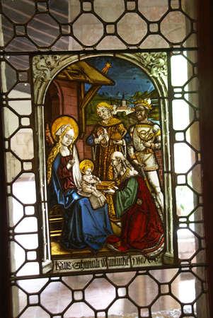 Stained glass, Epiphany  Editöryel