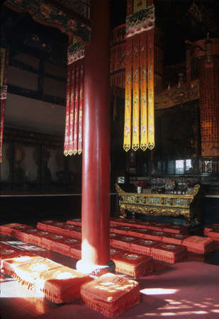 Detail, throne room in Forbidden City,   Beijing China Stock Photo - 11458546