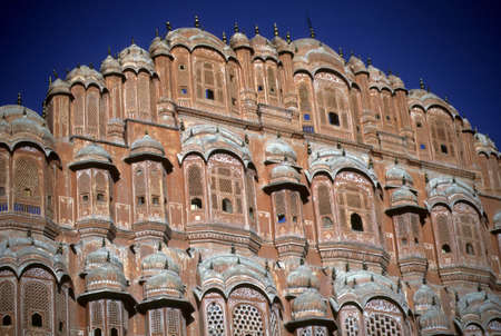 purdah: Palace of the Winds, harem screen,  Jaipur India