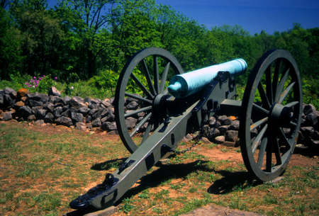 Napoleon, 12 lb cannon, CSA lines  Gettysburg National Historical Battlefield, Pennsylvania   photo