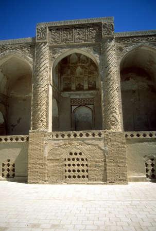 Seljuk (10th c) Friday Mosque  Nain, Iran Stock Photo
