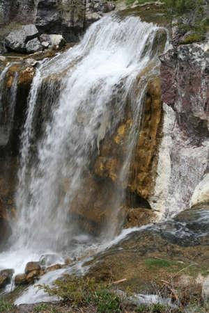 폴 리나 폭포, 흐리게, 움직이는 물, 뉴베리 국립 화산 기념물, 중앙 오 레 곤