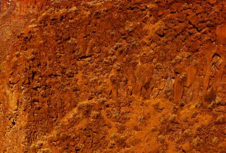 talus: Basalto acantilados y taludes de flujo de lava antiguo, Crooked River Canyon, Central Oregon