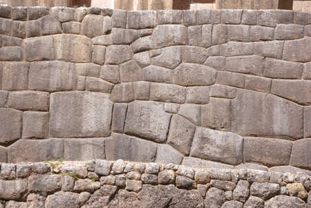 close fitting: Detail, high quality of Inca stone wall, Tambo Machay,  Cusco, Peru, South America
