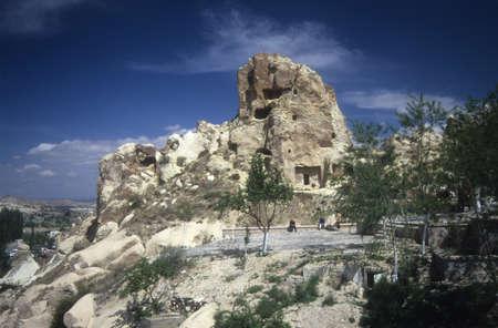 Troglodyte cave house,Urfa,CappadocciaTurkey Stock Photo - 11675343