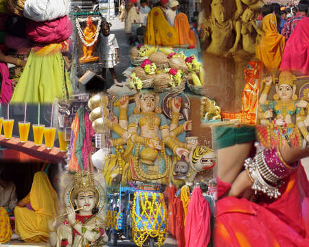 Montage - India - Temples, Gods and Goddesses