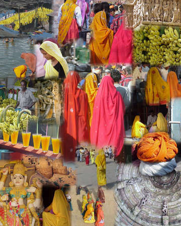 MUMBAI INDIA 2003 - Montage -    India - Temples, Gods and Goddesses