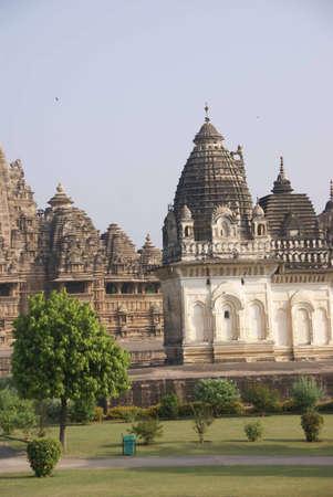 khajuraho: Matangeshvara and Lakshmana Temples,   Khajuraho in  India, Asia